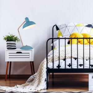 Lámpara bruno navy de mesa Ebani Colombia tienda online de decoración y mobiliario Lienxo