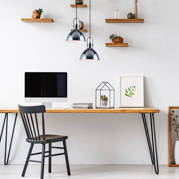 Lámpara colgante chicago negro cromado Ebani Colombia tienda online de decoración y mobiliario Lienxo