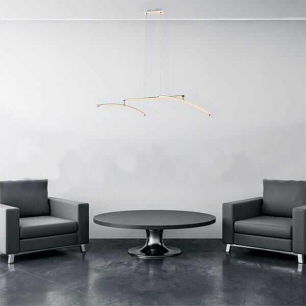 Lámpara colgante letra Ebani Colombia tienda online de decoración y mobiliario Lienxo