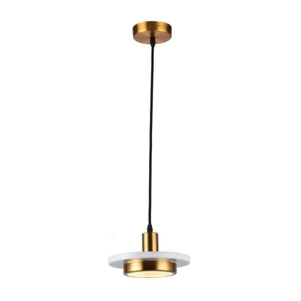 Lámpara colgante parís mármol blanco Ebani Colombia tienda online de decoración y mobiliario Lienxo