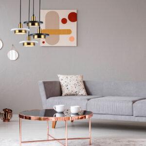 Lámpara colgante parís mármol negro Ebani Colombia tienda online de decoración y mobiliario Lienxo