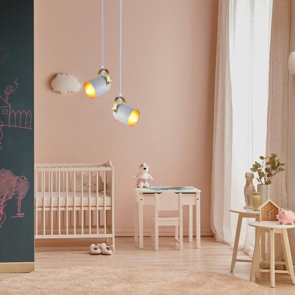 Lámpara colgante sienna blanca Ebani Colombia tienda online de decoración y mobiliario Lienxo