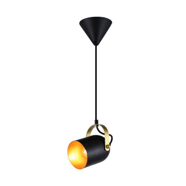 Lámpara colgante sienna negra