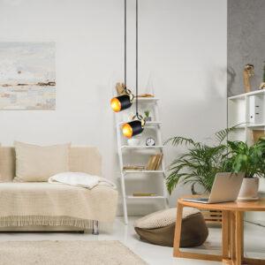 Lámpara colgante sienna negra Ebani Colombia tienda online de decoración y mobiliario Lienxo