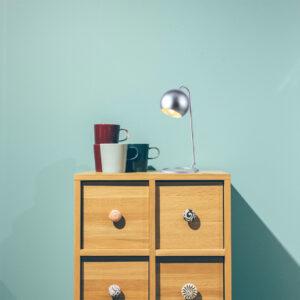 Lámpara de mesa brooklyn satín Ebani Colombia tienda online de decoración y mobiliario Lienxo