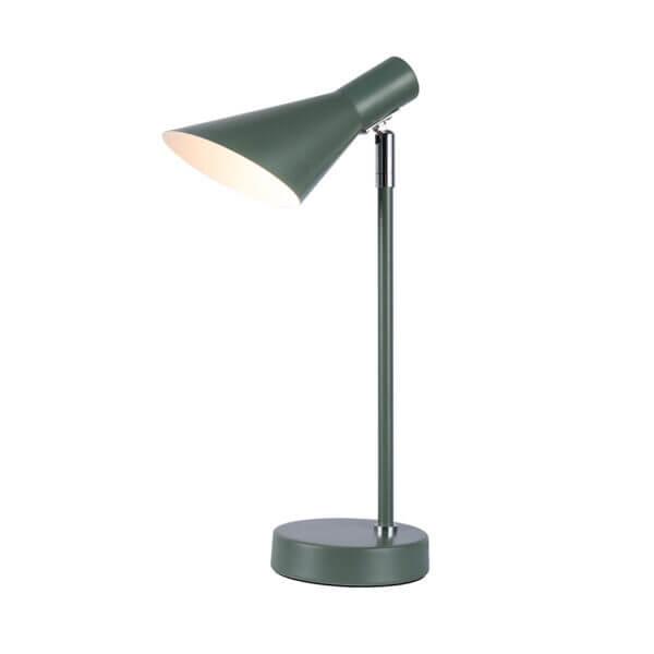 Lámpara de mesa dublín verde