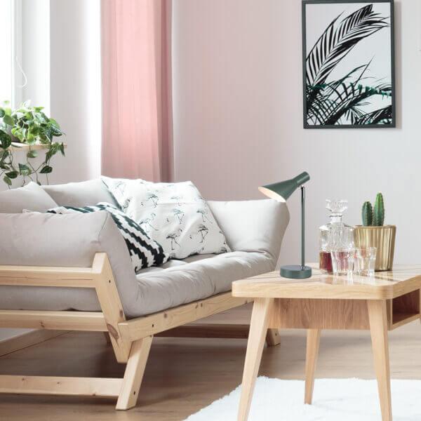Lámpara de mesa dublín verde Ebani Colombia tienda online de decoración y mobiliario Lienxo