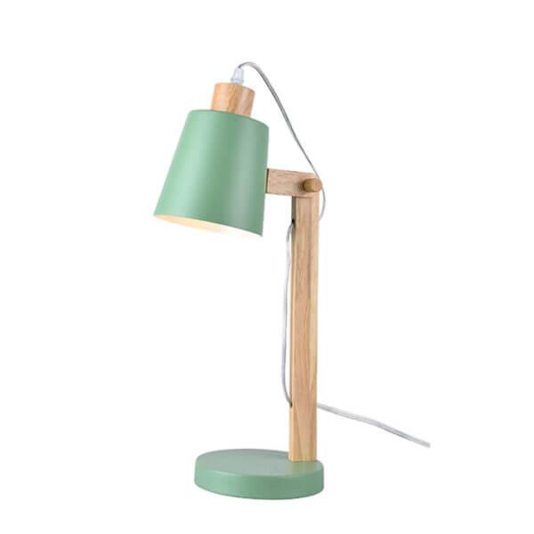 Lámpara de mesa wood verde