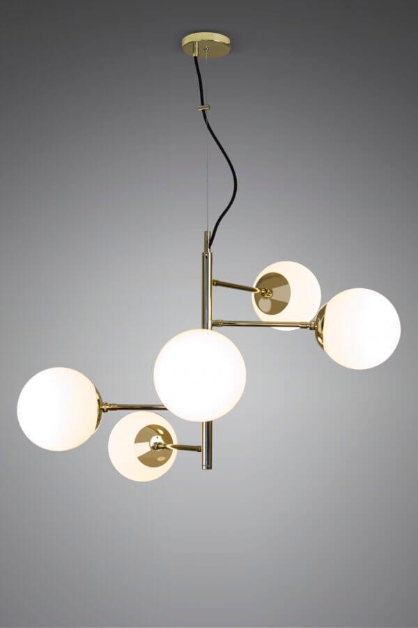 Lámpara de techo o Lámpara luminaria haiti 5 Luces Ebani Colombia tienda online de decoración y mobiliario Goza