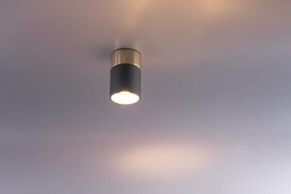 Lámpara de techo o Lámpara luminaria plafón hornet negro