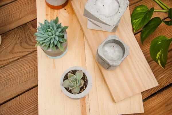 Mini matera en concreto Juliana Ebani Colombia tienda online de decoración y mobiliario Ornamental