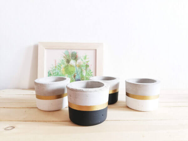 Mini matera en concreto Paula Ebani Colombia tienda online de decoración y mobiliario Ornamental