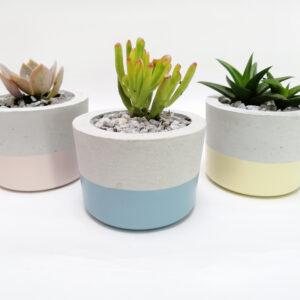 Mini materas en concreto María (x3 unidades) Ebani Colombia tienda online de decoración y mobiliario Ornamental