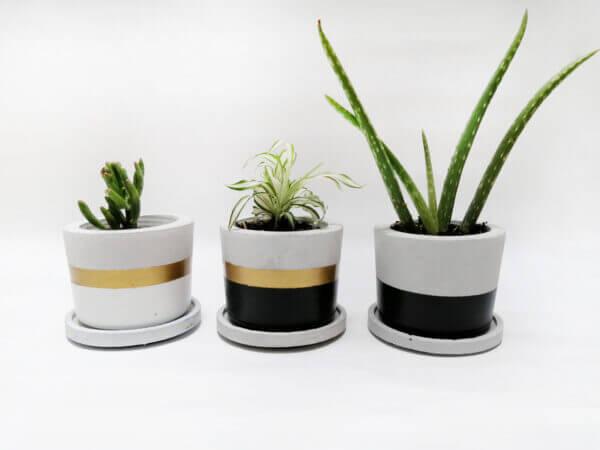Mini materas en concreto Paula + base (x3 unidades) Ebani Colombia tienda online de decoración y mobiliario Ornamental