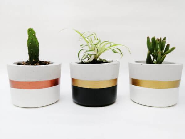 Mini materas en concreto Paula (x3 unidades) Ebani Colombia tienda online de decoración y mobiliario Ornamental