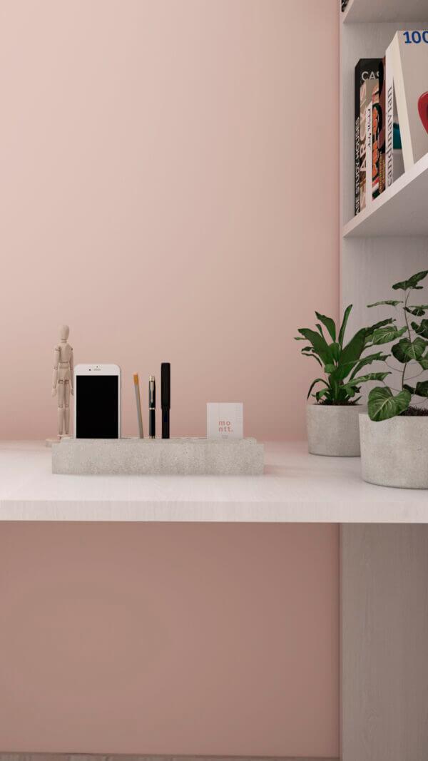 Organizador de oficina en concreto Ebani Colombia tienda online de decoración y mobiliario Ornamental