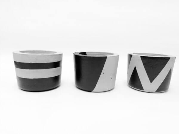 Set de minimateras en concreto Tayrona Ebani Colombia tienda online de decoración y mobiliario Ornamental