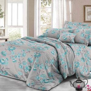 Set de sábanas flores azules Ebani Colombia tienda online de decoración y mobiliario My home store