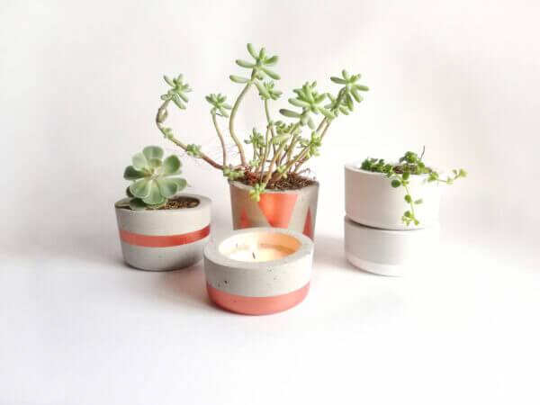 Set ornamental en concreto Ebani Colombia tienda online de decoración y mobiliario Ornamental