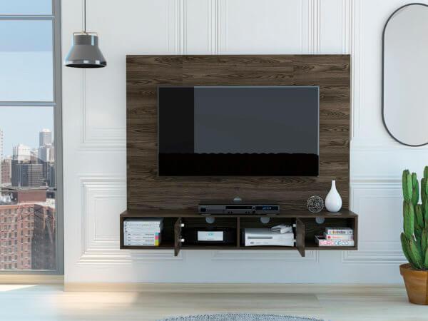 Centro de entretenimiento o mesa para TV Montpellier coñac Ebani Colombia tienda online de decoración y mobiliario RTA