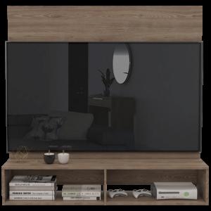 Centro de entretenimiento o mesa para TV Rávena Novo miel Ebani Colombia tienda online de decoración y mobiliario RTA