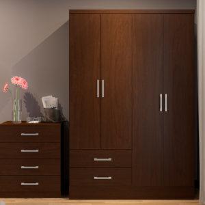Clóset o Armario – Chocolate Touch Ebani Colombia tienda online de decoración y mobiliario Bertolini