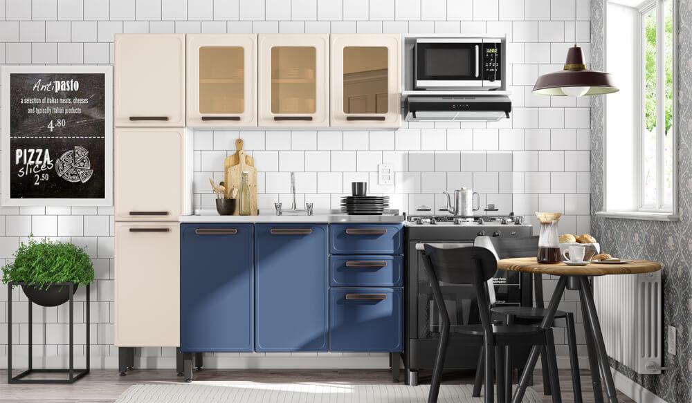 Cocina Origens Con Lavaplatos Blue Navy Ebani Colombia tienda online de decoración y mobiliario Bertolini