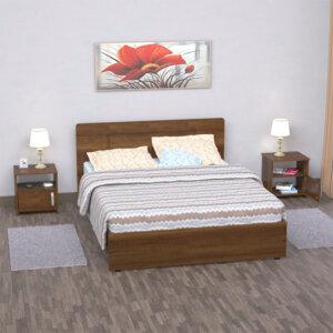 Combo cama doble + mesas de noche Ebani Colombia tienda online de decoración y mobiliario maderkit