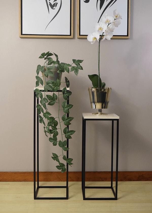Combo soporte materas y adornos kohl oscuro Ebani Colombia tienda online de decoración y mobiliario Ferrum