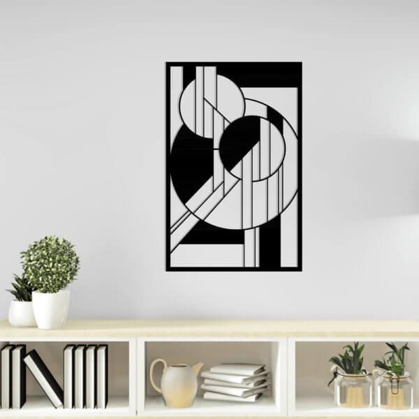 Cuadro Decorativo 2 Geométrico 1.1 Ebani Colombia tienda online de decoración y mobiliario Lansede