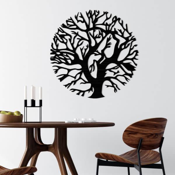 Cuadro Decorativo Árbol Circular 1.1 Ebani Colombia tienda online de decoración y mobiliario Lansede