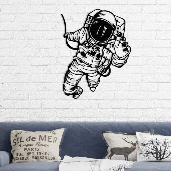 Cuadro Decorativo Astronauta 1.1 Ebani Colombia tienda online de decoración y mobiliario Lansede