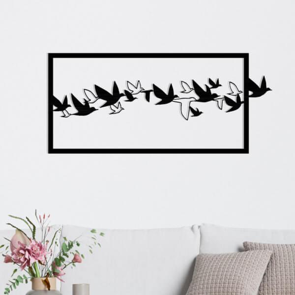 Cuadro Decorativo Aves 1.1 Ebani Colombia tienda online de decoración y mobiliario Lansede