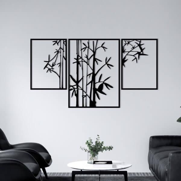Cuadro Decorativo Bambú 1.1 Ebani Colombia tienda online de decoración y mobiliario Lansede