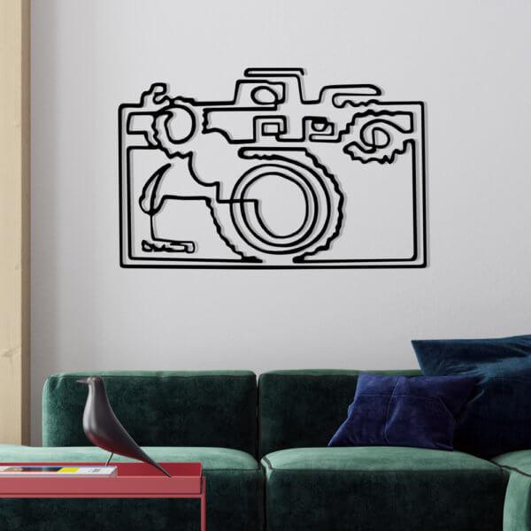 Cuadro Decorativo Cámara Fotográfica 1.1 Ebani Colombia tienda online de decoración y mobiliario Lansede