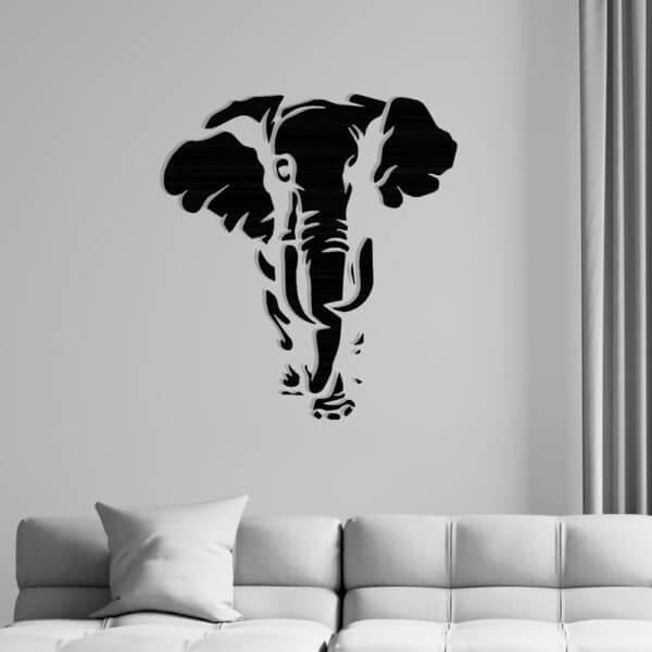 Cuadro Decorativo Elefante 1.1 Ebani Colombia tienda online de decoración y mobiliario Lansede