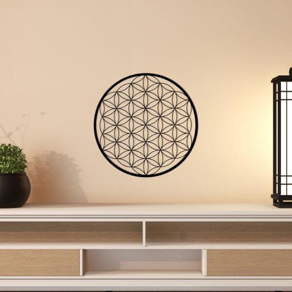 Cuadro Decorativo Flor De La Vida 1.1 Ebani Colombia tienda online de decoración y mobiliario Lansede