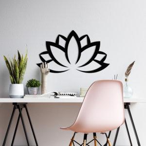 Cuadro Decorativo Flor de Loto 1.1 Ebani Colombia tienda online de decoración y mobiliario Lansede