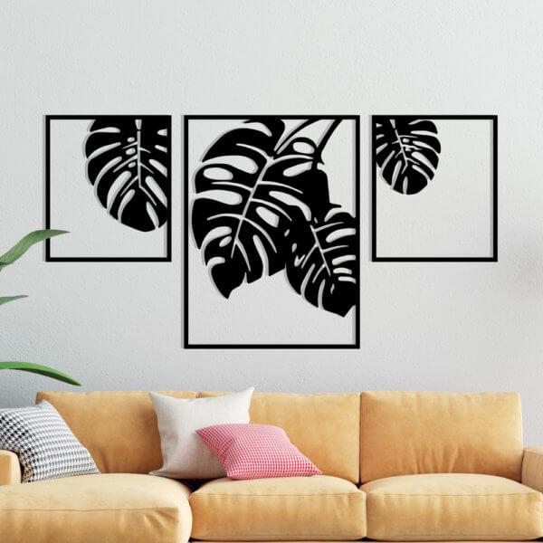 Cuadro Decorativo Hojas 1.1 Ebani Colombia tienda online de decoración y mobiliario Lansede