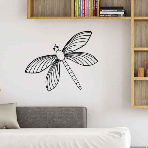 Cuadro Decorativo Libelula Orgánica 1.1 Ebani Colombia tienda online de decoración y mobiliario Lansede