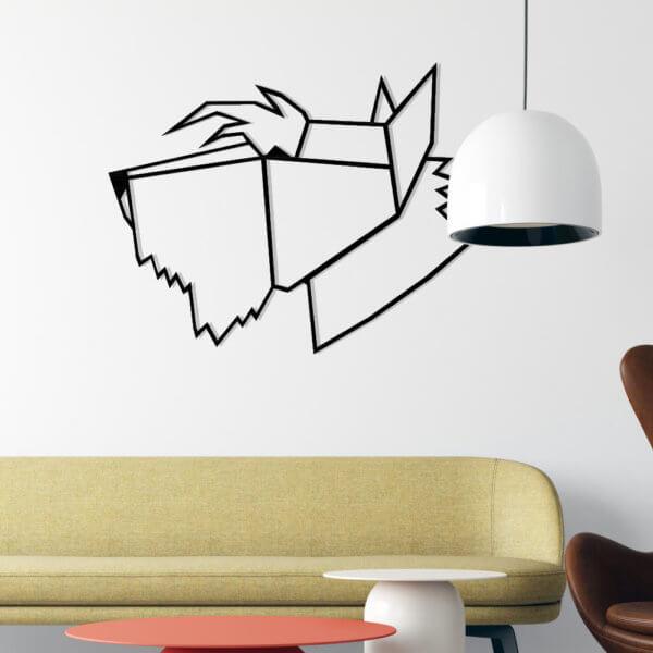 Cuadro Decorativo Schnauzer 1.2 Ebani Colombia tienda online de decoración y mobiliario Lansede