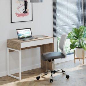 Escritorio moderno para pc o estudio bruno Ebani Colombia tienda online de decoración y mobiliario maderkit