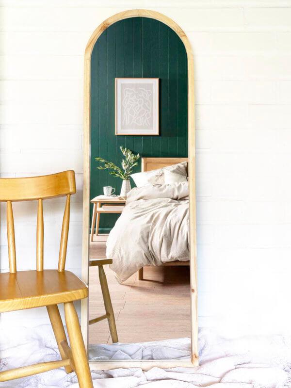Espejo Decorativo con arco Ebani Colombia tienda online de decoración y mobiliario Cozzy