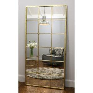 Espejo Decorativo mondrian color dorado Ebani Colombia tienda online de decoración y mobiliario Shapes shop