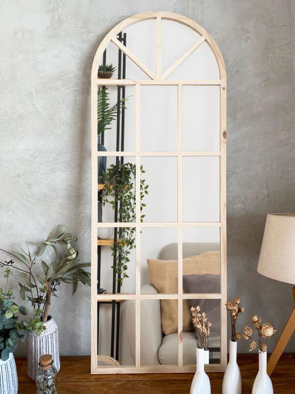 Espejo Decorativo ventana arco natural Ebani Colombia tienda online de decoración y mobiliario Cozzy