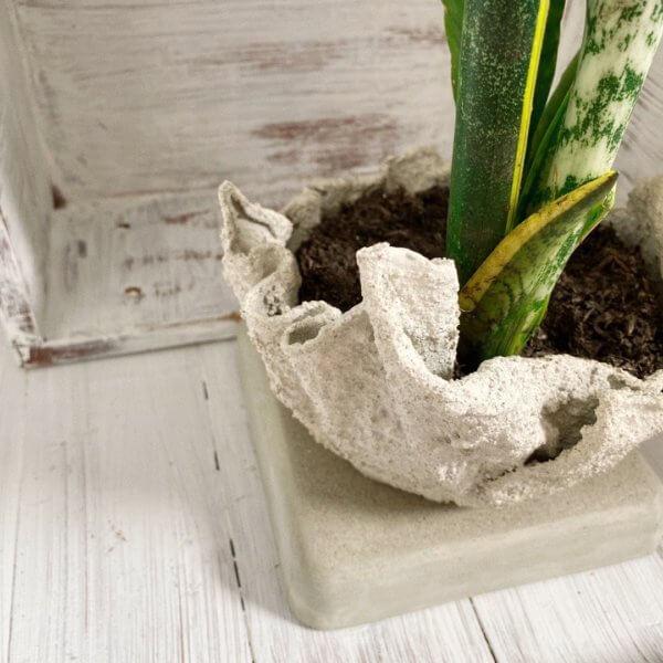 Matera de Piso Drach white Ebani Colombia tienda online de decoración y mobiliario Cristian paredes