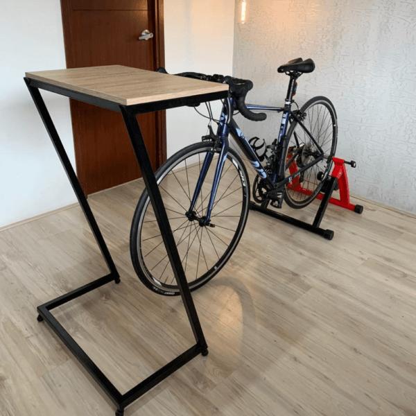 Mesa auxiliar bike mediana oscura Ebani Colombia tienda online de decoración y mobiliario Ferrum