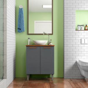Mueble De Baño Con Lavamanos – Grafito Ebani Colombia tienda online de decoración y mobiliario Bertolini