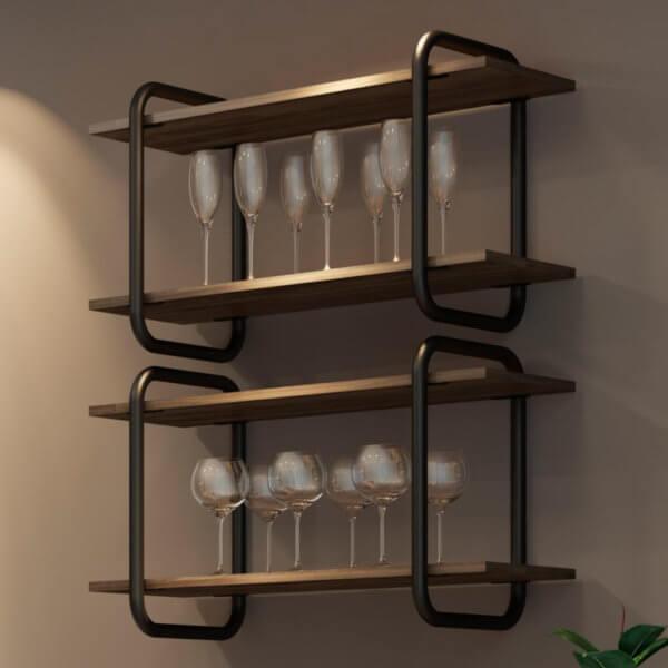 Mueble Multiusos – Legno Negro Mate Ebani Colombia tienda online de decoración y mobiliario Bertolini