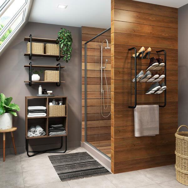 Mueble Multiusos – Negro Mate Ebani Colombia tienda online de decoración y mobiliario Bertolini